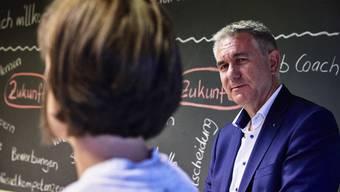 Medienkonferenz zum Schuljahresanfang im Aargau