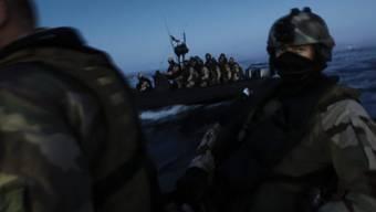 Französische Sondereinsatzkräfte vor der Küste Somalias: In der Region wurden 2015 keine Piratenangriffe gemeldet (Symbolbild).