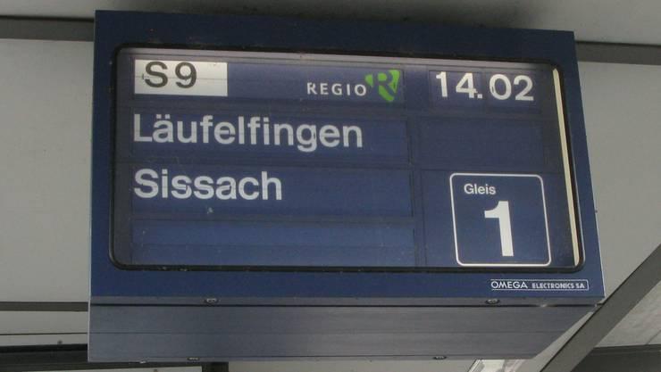 Das «Läufelfingerli» soll seinen Stundentakt beibehalten, fordert die Pro Bahn Schweiz. (Archiv)