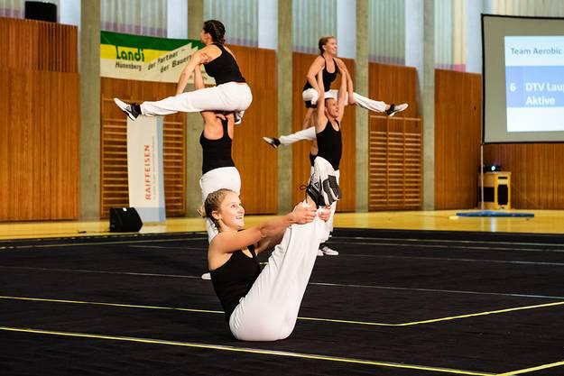 Die Aktiven lieferten eine souveräne Choreografie ab.