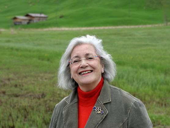 1. Februar: Die Zürcher Radiolegende Elisabeth Schnell - hier 2005 im Berner Oberland - ist im Alter von 90 Jahren an den Folgen einer Erkrankung gestorben.