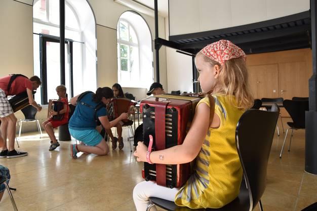 Akkordeons gibt es zum Glück in Kindergrösse