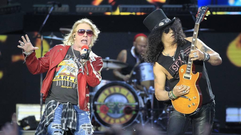 Mehr Sicherheit beim Guns N' Roses Konzert nach dem Anschlag in Manchester