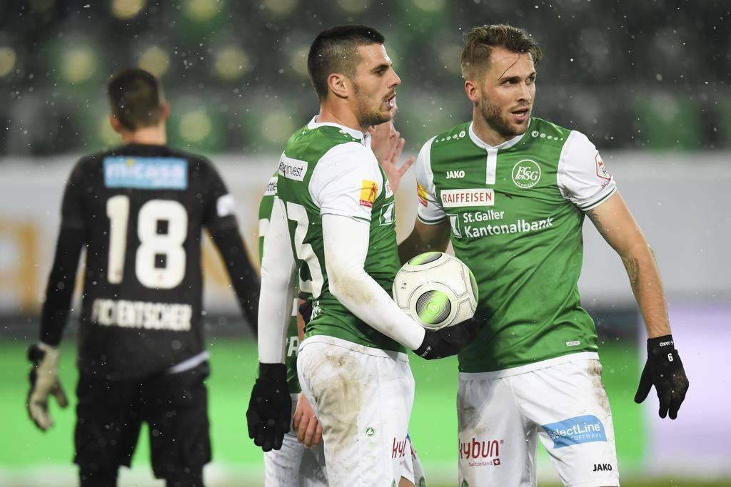 FCSG gegen FC Sion (© Keystone)