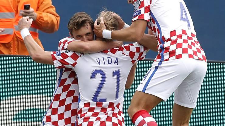 Kroatien behält in der WM-Qualifikation die Nase vorn