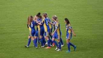 Die Frauen des SC Derendingen besiegen das Team Chenois fémenin