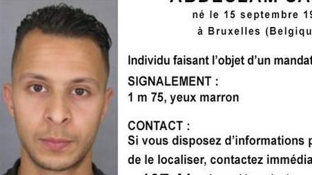 Die französischen Behörden veröffentlichten dieses Bild des Verdächtigen