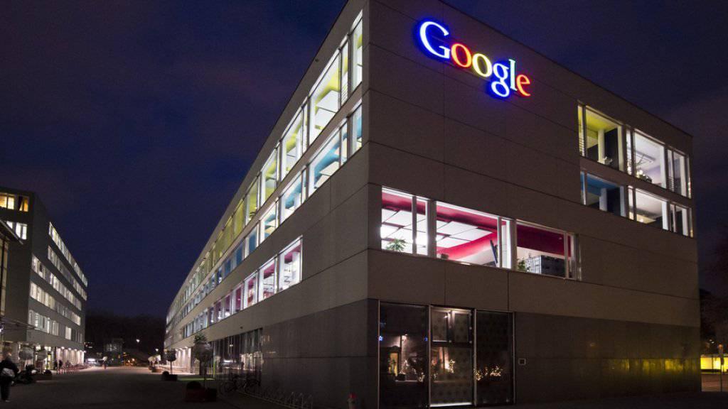 Google-Gebäude in Zürich: Der IT-Gigant schüttet im Rahmen seiner neuen Förderrunde insgsesamt 245'000 Euro an Schweizer Medienprojekte aus.