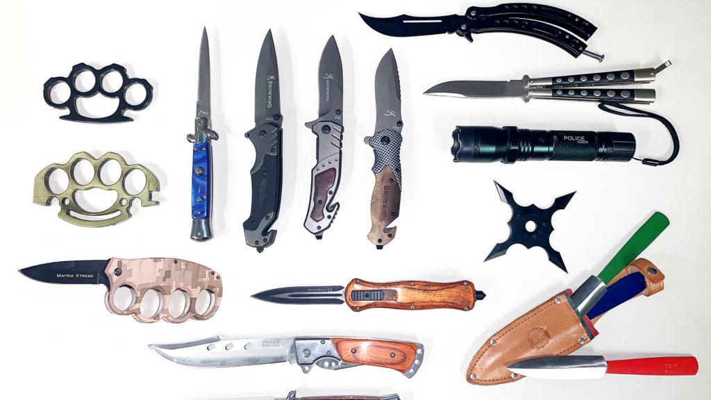 Luzerner Polizei stellt vermehrt verbotene Waffen sicher