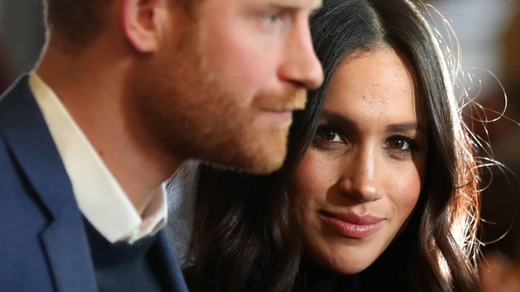 ARCHIV - Meghan, Herzogin von Sussex und ihr Mann, Prinz Harry. (Archivbild) Foto: Andrew Milligan/PA Wire/dpa