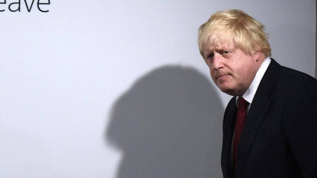 Setzt auf beruhigende Worte nach dem Brexit: Der als nächster britischer Premier gehandelte Boris Johnson.