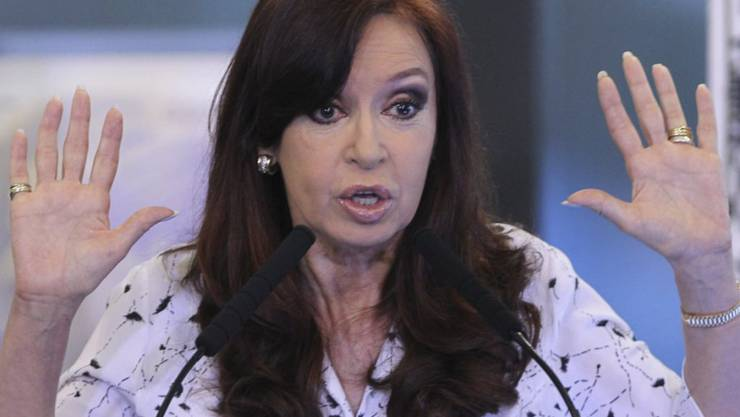 Sie hat schon mehrere Korruptionsverfahren am Hals, jetzt muss sie auch noch wegen möglicher Strafvereitelung vor Gericht: Argentiniens Ex-Präsidentin Cristina Kirchner. (Archivbild)