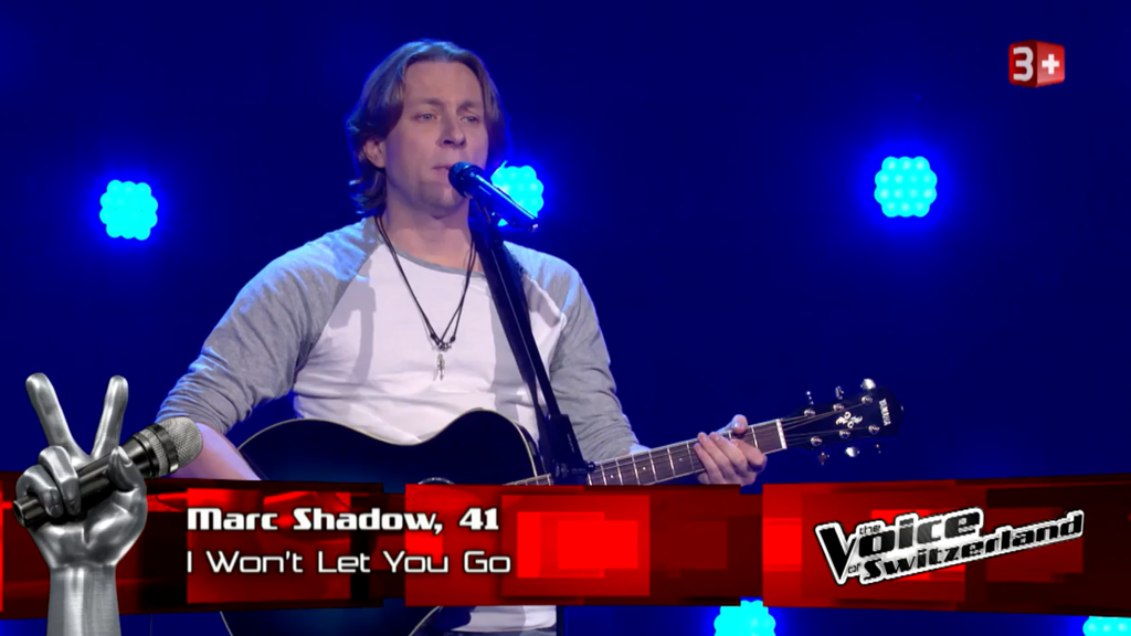 Marc Shadow bei The Voice of Switzerland