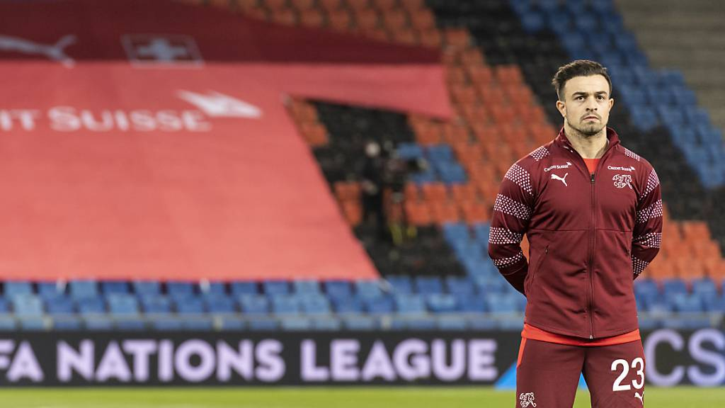 Xherdan Shaqiri kam mit einer Verletzung nach Liverpool zurück