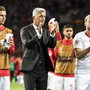 Am Ende blieb Vladimir Petkovic nur der Applaus an Cristiano Ronaldo