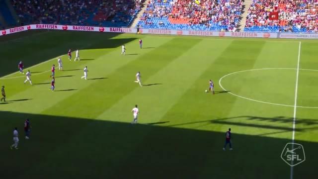Super League, 2018/19, 4. Runde, FC Basel – FC Sion, 3:2 Eigentor André Neitzke