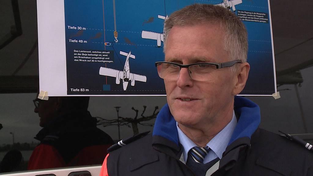 Flugzeugbergung im Bodensee: Deshalb soll es dieses Mal klappen