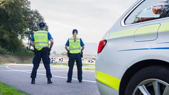 Die Polizei führte am Montag Geschwindigkeitskontrollen im Ausserortsbereich durch. (Symbolbild)