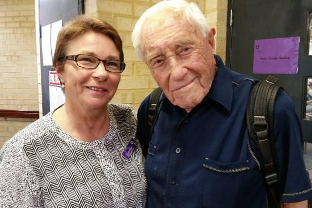 Eine gute Freundin von Exit International wird den 104-jährigen David Goodall in die Schweiz begleiten.