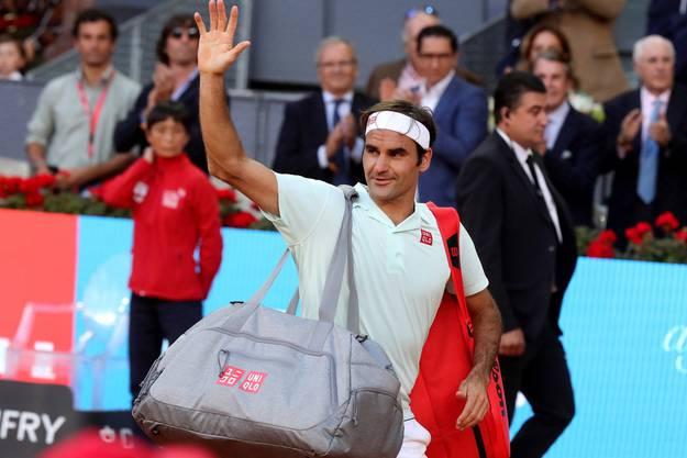 Er verabschiedet sich damit vom Turnier in Madrid.