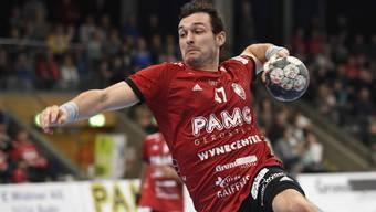 Handball: Impressionen von der Partie HSC Suhr Aarau gegen GC Amicita (10.11.2019)