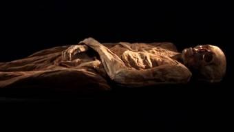 Barfüsser-Mumie
