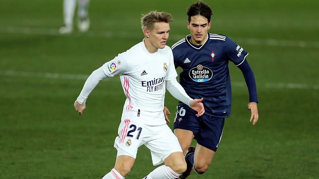 Real Madrid leiht Ödegaard erneut aus