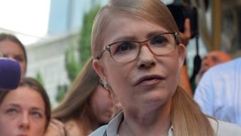 ARCHIV - Julia Timoschenko hat sich mit dem Coronavirus infiziert. Ihr Zustand soll ernst sein. Foto: Ukrinform/dpa
