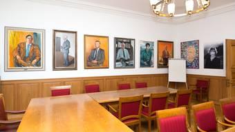 Die Ahnengalerie im Solothurner Rathaus