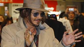 Johnny Depp will sich als Regisseur betätigen (Archiv)