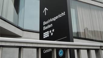 Das Bezirksgericht am Schulhausplatz Baden.