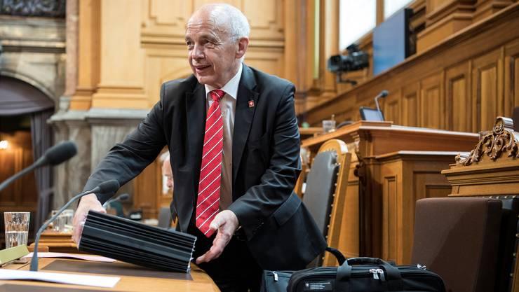 Finanzminister Ueli Maurer verteidigte im Ständerat die Ausnahmeregelung für Zürich.