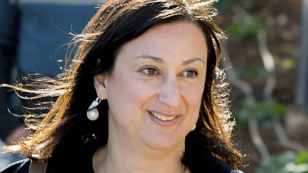 Die regierungskritische Journalistin Daphne Caruana Galizia war am 16. Oktober 2017 nahe ihrem Haus in Bidnija in ihrem Auto in die Luft gesprengt worden. (Archivbild von 2016)
