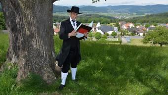 Ein Schwarzbube wie im Bilderbuch: Christian Imark.
