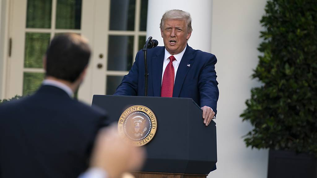 Klimawandel als Wahlkampfthema: Trump greift Biden verbal an