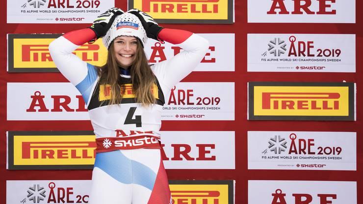 Corinne Suter gewinnt WM-Bronze!