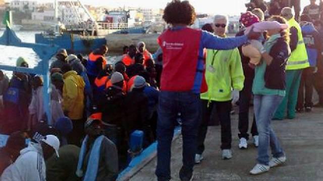 Immer mehr Flüchtlinge kommen nach Lampedusa