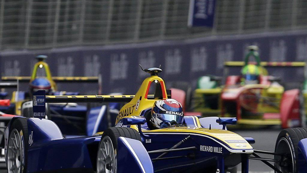 Sébastien Buemi feierte in Punta del Este bereits seinen zweiten Saisonsieg