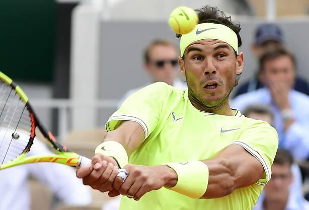 Auch Rafael Nadal dürfte sich über die Formel ärgern. Er wird trotz Weltranglisten Platz 2 hinter Roger Federer eingestuft.