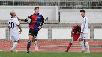 Die U21-Mannschaft des FC Basel gewinnt in Kriens mit 2:0.