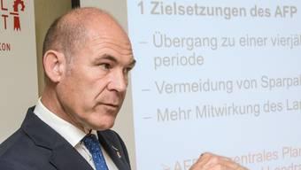 Erfreuliches Zeugnis für den Baselbieter Finanzdirektor Anton Lauber (CVP).
