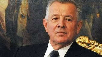 Ungarns Präsident Pal Schmitt: Der Plagiatsskandal führt zum Rücktritt des Rektors der Semmelweis-Universität (Archiv)