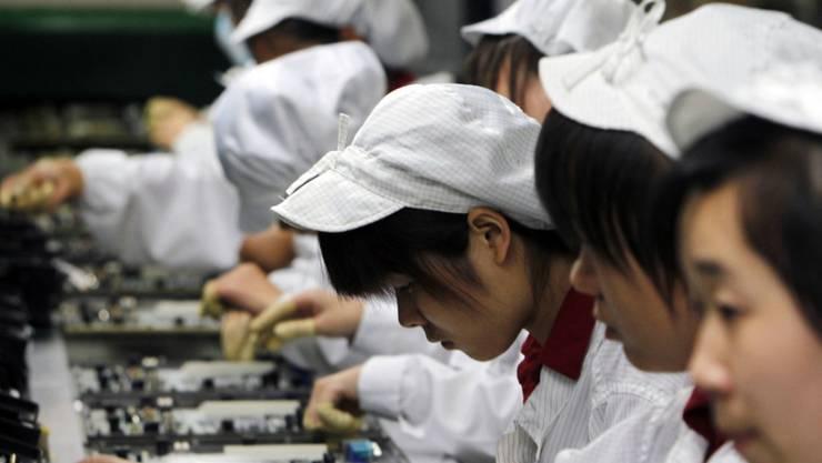 Die Industrieproduktion in China war im Januar und Februar so schwach wie seit 2008 nicht mehr. (Symbolbild)