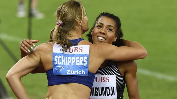 Dafne Schippers und Mujinga Kambundji