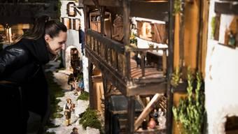 Das Modell ist einem sizilianischen Dorf aus dem 17. Jahrhundert nachempfunden.