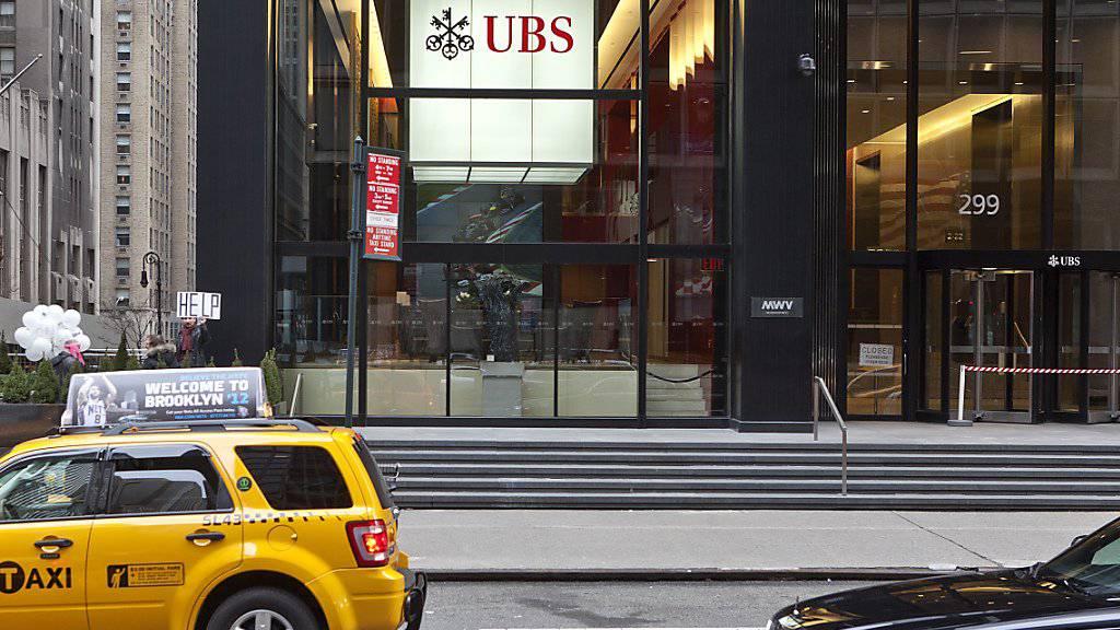 Der UBS-Bürositz in New York an der Park Avenue. (Archivbild)