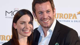 Jan Hartmann und seine Frau Julia werden zum zweiten Mal Eltern. (Archiv)