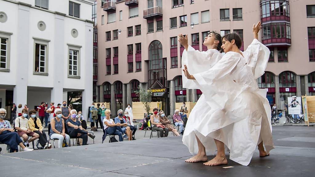 Bei der gemeinsamen Saisoneröffnung der Luzerner Theaterbranche im August herrschte noch Optimismus. (Archivaufnahme)