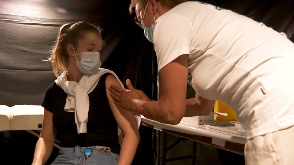 Neue Impfkampagne in St.Gallen: «Verhängen ist out»