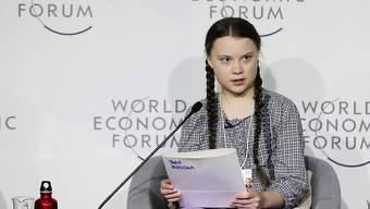 Die 16-jährige Klima-Aktivistin Greta Thunberg wird bei der Verleihung des Film- und Fernsehpreises Goldene Kamera Ende März in Berlin mit einem Sonderpreis für den Klimaschutz geehrt. (Archivbild)